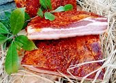 pancetta piccante originale calabrese