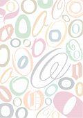 Typo O Pastell poster