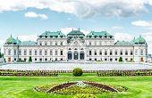 Day View Of The Upper Belvedere In Vienna, Austria