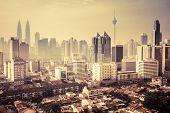 Urban landscape of Kuala Lumpur,Malaysia