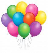 Balloons theme image 2 - eps10 vector illustration.
