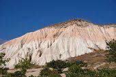 Varicolored Hill In Cappadocia