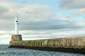 Lighthouse  In Aberdeen, Scotland