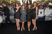 Kylie Jenner, Kourtney Kardashian, Kim Kardashian, Kendall Jenner at