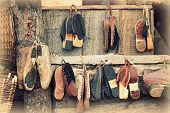 Old Wooden Clogs