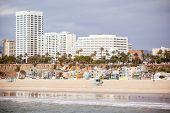 Santa Monica Beach Front