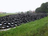 Silage foil pay on tires