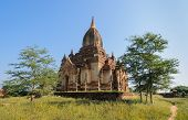 Ancient Temple In Bagan, Myanmar