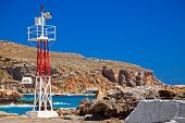 Lighthouse In The Port Of Chora Sfakion