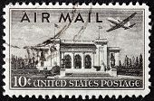 Us Air Mail Stamp