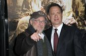 Steven Spielberg and Tom Hanks at  'The Pacific' Mini Series screening, Chinese Theater, Hollywood,