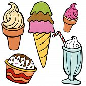 Ice Cream Food Items
