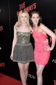 Dakota Fanning and Kristen Stewart at