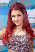 Ariana Grande  at the Make-A-Wish Foundation's Day of Fun Hosted by Kevin & Steffiana James, Santa Monica Pier, Santa Monica, CA. 03-14-10