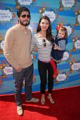 Ali Landry and Alejandro Gomez Monteverde at the Make-A-Wish Foundation's Day of Fun Hosted by Kevin