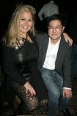 Josie Goldberg and Gregory Hatanaka  at the Playback Wrap Party, House of Blues, West Hollywood, CA.