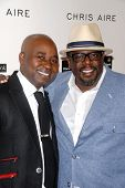Chris Aire and Cedric the Entertainer at the introduction of the Chris ire