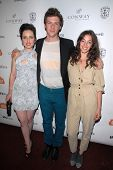 Zoe Lister-Jones, Daryl Wein and Olivia Thirlby at the