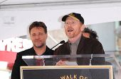 Russell Crowe and Ron Howard   at the Russell Crowe star ceremony into the Hollywood Walk of Fame, Hollywood, CA 04-12-10