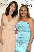 Teri Hatcher and Angelique Encarnacion   at the Aviva Family and Children's Services Gala,  Beverly