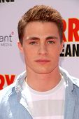 Colton Haynes at the Los Angeles Premiere of