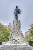 San Martin Monument In Mar Del Plata, Argentina