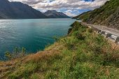 Beautiful lake Wakatipu Queenstown