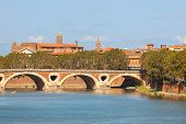 Cityscape Of Toulouse