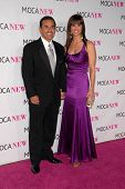 Antonio Villaraigosa and Lu Parker at the MOCA New 30th Anniversary Gala, MOCA Grand Avenue, Los Angeles, CA. 11-14-09