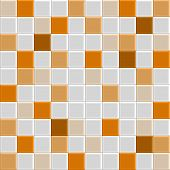 Orange Tile Texture
