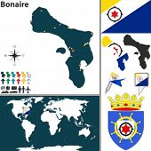 Map Of Bonaire