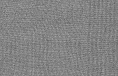Texture Of Gray Woolen Fabric