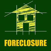 Foreclosure House Indicates Repayments Stopped And Apartment