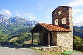 Monastery Of Santo Toribio De Liebana.