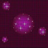 Sphere Pink Indicates High Tech And Abstract