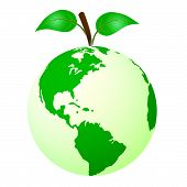 Eco Friendly Indicates Reuse Protection And Recycling