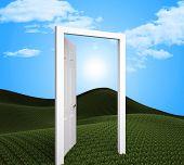 Doorway Planning Indicates Target Goals And Aspire