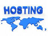 Hosting World Shows Earth Webhosting And Worldwide