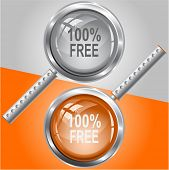 100% free. Raster magnifying glass.