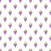 Grapes Seamless Pattern