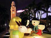 lantern carnival, Hong Kong