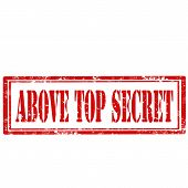 Above Top Secret-stamp