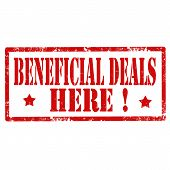 Beneficial Deals-stamp