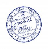 Special offer grunge rubber stamp