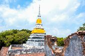 Brothers Pagoda On The Top Of Dang Mountain At Songklha Province, Thailand