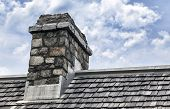 Cobblestone Chimney