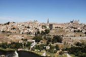Toledo And Tagus River, Spain