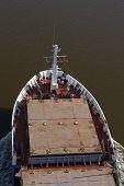 Beldorf - Freighter At Kiel Canal