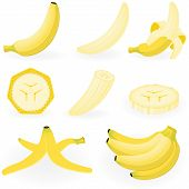 Icon Set Banana