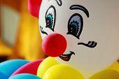 Colorful balloon clown